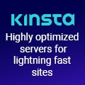 Kinsta Highly Optimized servers for lightening fast sites