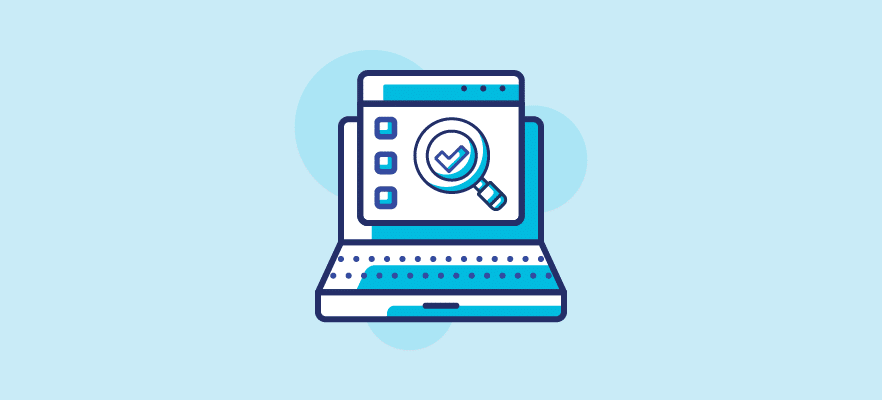 Website Audit with checkboxes